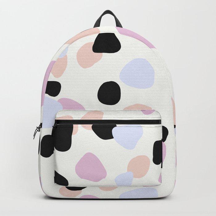 Sweet Terrazzo Style Backpack