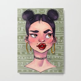 'Tude Metal Print