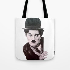 charles chaplin the kid Tote Bag