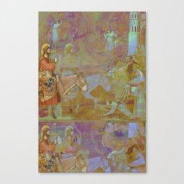 Triumphal Entry  Canvas Print
