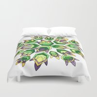new orleans Duvet Covers featuring NEW ORLEANS by Dorienn Medrano