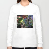 teenage mutant ninja turtles Long Sleeve T-shirts featuring Teenage Mutant Ninja Turtles by artbywilliam