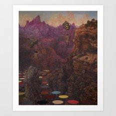 last canyon Art Print