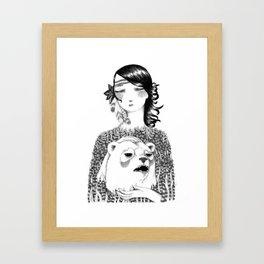 Conquering the Inner Beast Framed Art Print