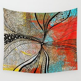 Black hole [2] Wall Tapestry