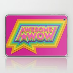 Awesome. Wow. Laptop & iPad Skin