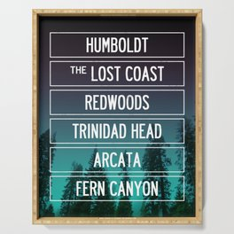Humboldt California Serving Tray