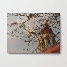 Stanford Hoover Tower at Sunset Metal Print