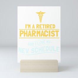 Pharmacy Retired Pharmacist Gift Mini Art Print