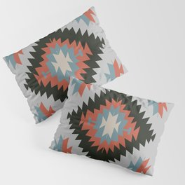 Southwestern Santa Fe Tribal Indian Pattern Pillow Sham
