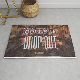 College Drop Out Rug