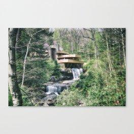Fallingwater Canvas Print