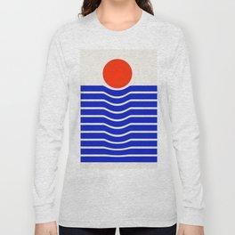 Going down-modern abstract Long Sleeve T-shirt