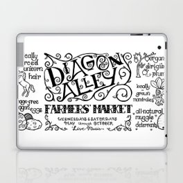 Diagon Alley Farmers' Market Laptop & iPad Skin