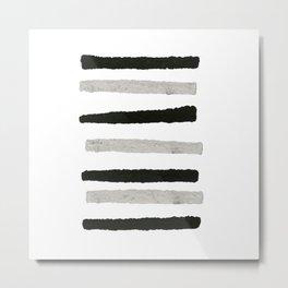 Stripes 2 (13/100) Metal Print