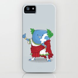 The Caesar and 42000 more Romans in the circus like this iPhone Case