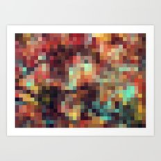 Nature Pixels No.11 Art Print