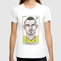 zlatan T-shirts featuring ZLATAN by BANDY