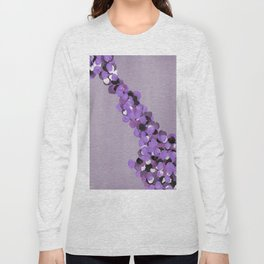 Purple foliage Long Sleeve T-shirt