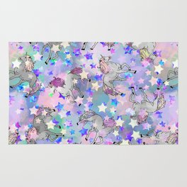 Unicorn Party Rug