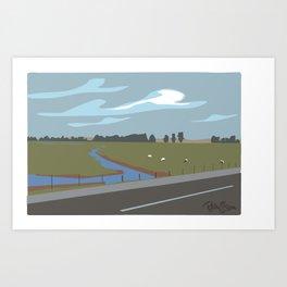 Lodi scenic Art Print