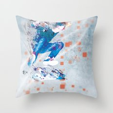 Ride North Throw Pillow