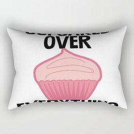 Cupcakes Over Everything Rectangular Pillow
