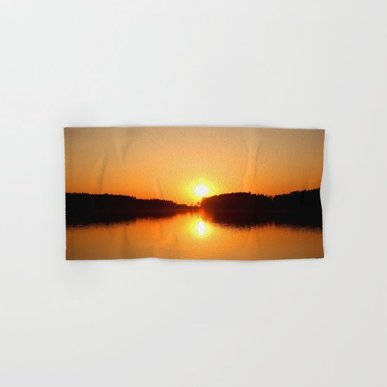 Beautiful Sunset Hand & Bath Towel