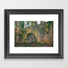 Nature and architecture Framed Art Print