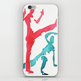 Capoeira 249 iPhone Skin
