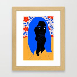 unhappy Framed Art Print