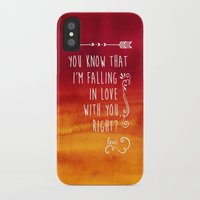 fangirl iPhone & iPod Cases featuring Fangirl by solMKC
