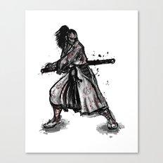 Bloody Samurai Canvas Print