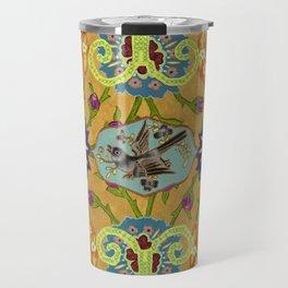 World Quilt - Panel #1 Travel Mug