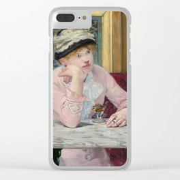 Manet,Fine Art,Beautiful,Wall Art,Framed,Poster,Canvas,Prints,Notebooks,Card,Gift,Gifts,Special,Rare Clear iPhone Case