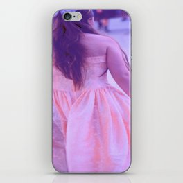 Girl with Dress iPhone Skin