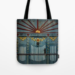 The Gate to Valhalla Tote Bag