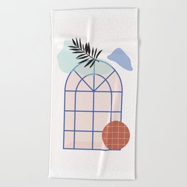 // Royal Gardens 02 Beach Towel