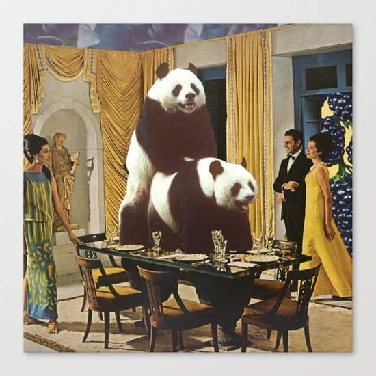 The Problem with Pandas Canvas Print
