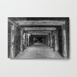 Old Tunnel, Cockatoo Island, Sydney Metal Print