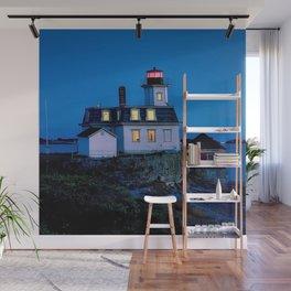 Rose Island Lighthouse; Narragansett Bay, Rhode Island Wall Mural
