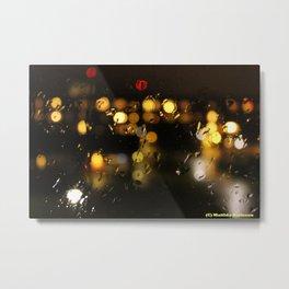 Beautiful rain Metal Print