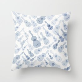 #23. STROM - Guitars Throw Pillow