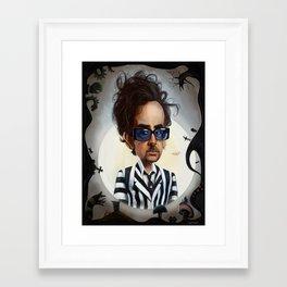 tim burton Framed Art Print