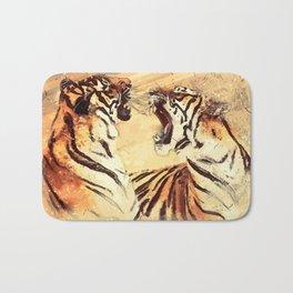 Tigers couple Bath Mat