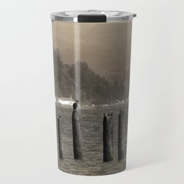 Columbia River Cormorants Birds Travel Mug