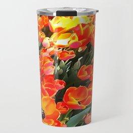 Tulips On Fire Travel Mug