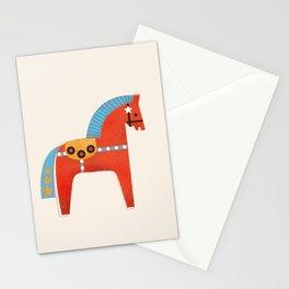 Christmas horse no2 Stationery Cards