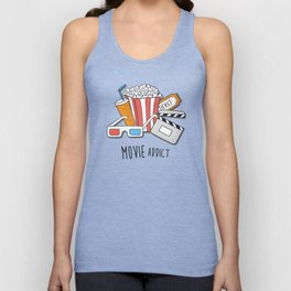 Movie Addict Unisex Tank Top
