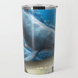The World Of The Dolphin Travel Mug